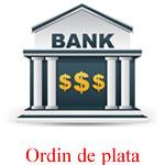 Plata cu ordin de plata bancara la Kreativshop.ro